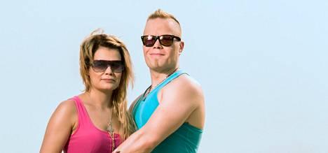 Krista Tampio ja Sami Tuomainen suunnittelivat häitä ennen ohjelmaan lähtöä.