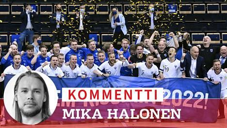 Suomi voitti tiistaina Belgian ja varmisti paikkansa EM-lopputurnauksessa.