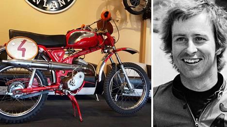 """Jarno Saarisen harvinainen moottoripyörä on myynnissä – """"Hyvin vaikea hinnoitella"""""""