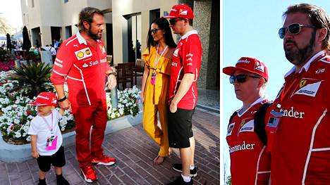 Uusi F1-väite Italiasta: Kimi ja Minttu Räikkösen pojan kummisetä on ehdolla Ferrarin tallipomoksi
