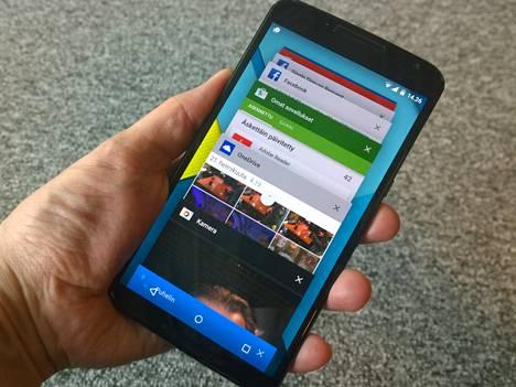 Nexus 6 on Googlen ja Motorolan yhteistuotantoa.