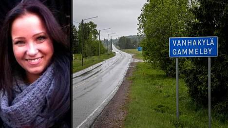 Vapaaehtoiset ovat etsineet Riina Mäkistä Vanhakylän alueella Loviisassa. Myös poliisi on etsinyt Mäkistä kahden päivän ajan viime viikolla.