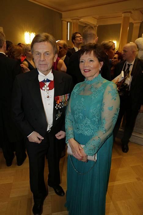 Mauri ja Raija Pekkarinen.