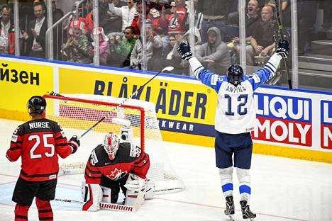 Marko Anttila kaatoi Kanadan.