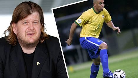 Jouko Harjunpää paljastaa uutuuskirjassa, että brasilialaisen jalkapallotähti Ronaldon kanssa oltiin jo hiomassa sopimusta Suomeen saapumisesta.