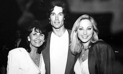 Marjon suosikkitapaaminen: Ridge Forrester eli Ronn Mossa ja hänen silloinen vaimonsa Shari Shattuck Turussa.