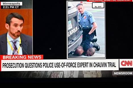Oikeudessa kuultiin oikeuslääketieteen ja poliisin voimankäytön asiantuntijoita ja Chauvinin toiminnasta kuvattu video oli isossa roolissa.