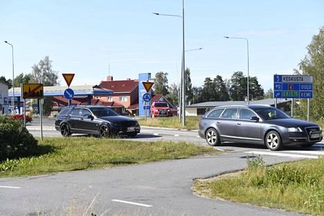 Liikennehäiriön arvioitiin kestävän yhdestä kolmeen tuntia.