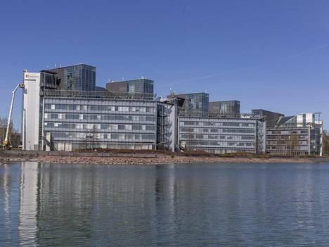Microsoftin pääkonttori Espoon Keilaniemessä.