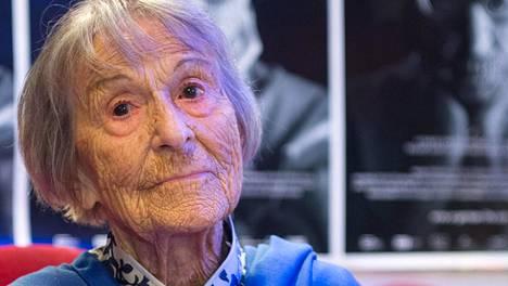Brunhilde Pomsel oli yksi neljästä Natsi-Saksan propagandaministerin Joseph Goebbelsin sihteeristä.