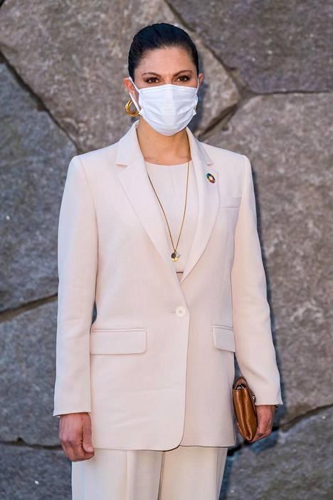 Victoria piti Tukholmassa pidetyssä tilaisuudessa puheen, jossa hän korosti, kuinka ihmisillä on elintärkeä rooli ilmastonmuutoksen ehkäisemisessä.