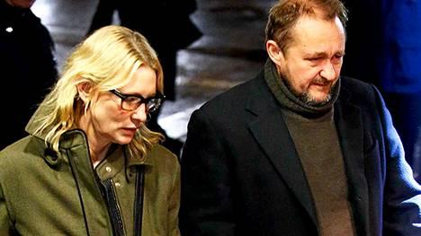 Cate Blanchett ja Andrew Upton.
