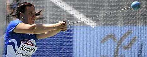 Merja Korpela on saavuttanut urallaan kolme SM-kultaa, viisi SM-hopeaa ja kolme SM-pronssia.