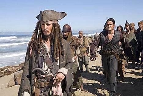 Johnny Depp tunnetaan muun muassa Pirates of the Caribbean -elokuvista.
