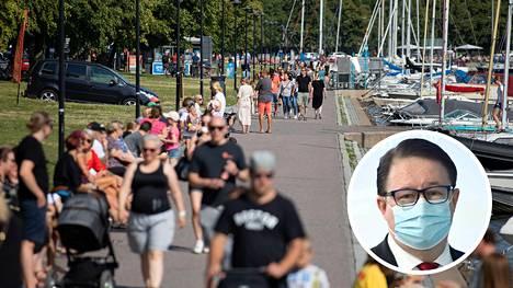 THL:n johtaja Mika Salminen kertoo Ylelle, että koronatartunnat tulisi saada laskemaan kesään mennessä, jotta kesästä tulisi vapaampi.