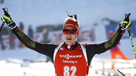 Benedikt Doll voitti pikakilpailun.