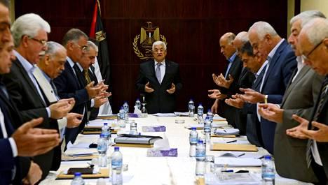 Palestiinalaisten presidentti Mahmud Abbas on kertonut, ettei hänen hallituksensa pysty toimimaan Gazan nykyisisissä olosuhteissa.
