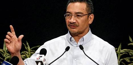 Asiasta kertoi Malesian vt. liikenneministeri Hishamuddin Hussein puhui jälleen medialle perjantaina.