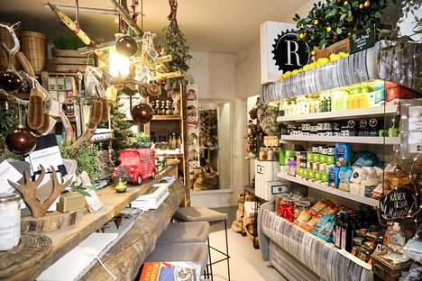 Meslewin aulatila on muutettu myyntialueeksi, josta voi ostaa muun muassa rasvakahvia ja -kaakaota, oliiviöljyjä, lisäravinteita, superfoodia ja luomumausteita.