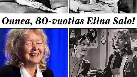 Elina Salo täyttää tänään 80 vuotta.
