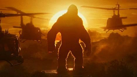 Kong: Pääkallosaari lainaa Vietnam-elokuvien kuvastoa.