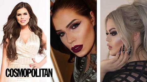 Anita, Sara ja Henry jakavat muun muassa vinkkinsä parhaisiin meikkitrendeihin juuri nyt.