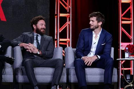 Danny ja Ashton esiintyivät yhdessä tilaisuudessa, jossa julkistettiin Netflix-sarja The Ranch.