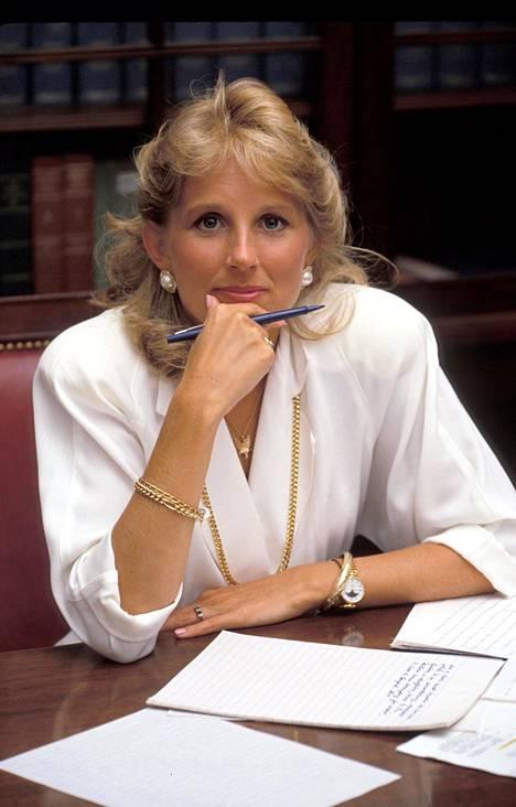 Jill Biden vuonna 1978.
