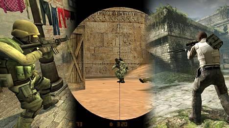 Counter-Striken eri versiot ovat olleet aina huippusuosittuja Suomessa.