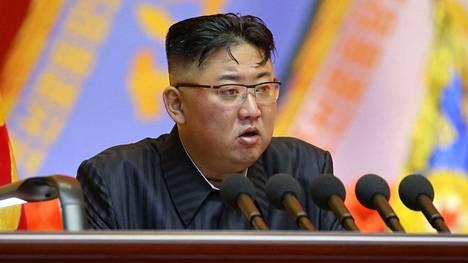 Pohjois-Korean johtaja Kim Jong-un on asettanut ehtoja neuvotteluille Yhdysvaltojen kanssa.