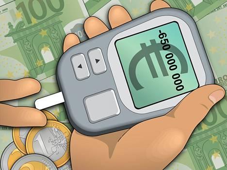 Diabetes on yhteiskunnalle kallis kansantauti myös Suomessa.