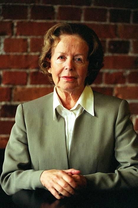 Eeva-Kaarina Volanen vuonna 1998.