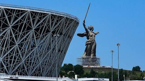 Volgogradin MM-areena on aiheuttanut murheita kaupungin jalkapalloväelle.