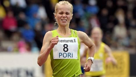 Marraskuussa 18 täyttävä Alisa Vainio on liian nuori osallistumaan Rio de Janeiron olympialaisten maratoniin.