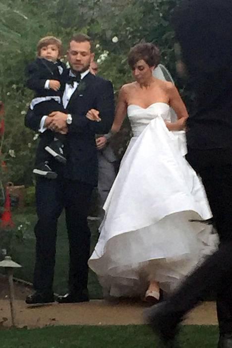 Jamie-Lynn Sigler meni naimisiin Cutter Dykstran kanssa tammikuun 18. päivä.