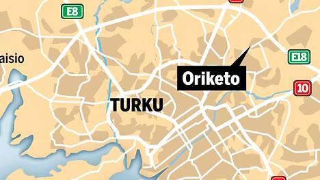 Koditon mies löytyi metsästä Turun Orikedon läheisyydestä.