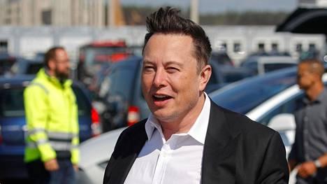 Elon Musk sai koronatartunnan.