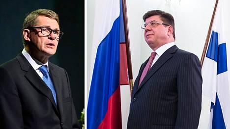 Presidenttiehdokas Matti Vanhanen ei halunnut arvioida, mitä Venäjän vastatoimet voisivat olla Suomen kohdalla.