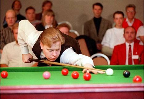 Nuori Robin Hull amatöörien EM-kisoissa Helsingissä vuonna 1993.