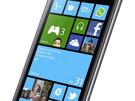 Samsung Ativ S on ensimmäinen Windows Phone 8 -käyttöjärjestelmälle julkaistu älypuhelin.