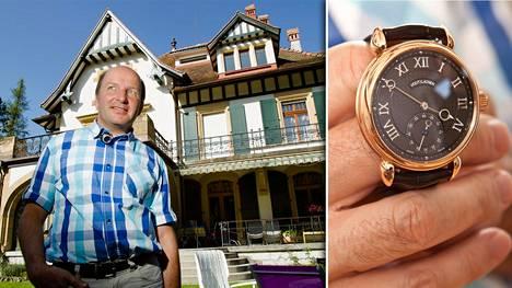 Kari Voutilaisen luomukset ovat haluttua tavaraa maailmalla. Rovaniemeltä kotoisin oleva kelloseppä itse asuu nykyään Sveitsin Môtiers'ssa.