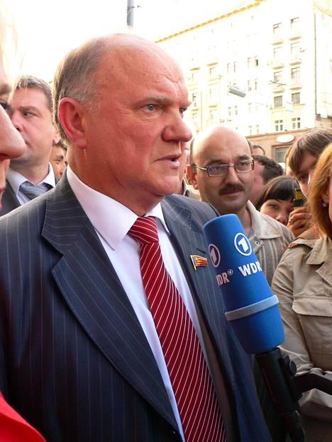 Kommunistien johtaja Gennadi Zjuganov on kuolemantuomion palauttamisen kannalla.