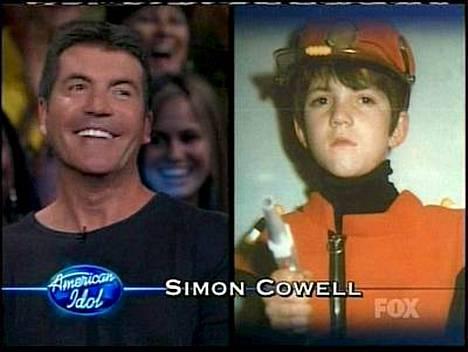 Simon Cowell ei paljon irrotellut lapsenakaan. Muut tuomarit näyttivät huomattavasti söpömmiltä lapsena.