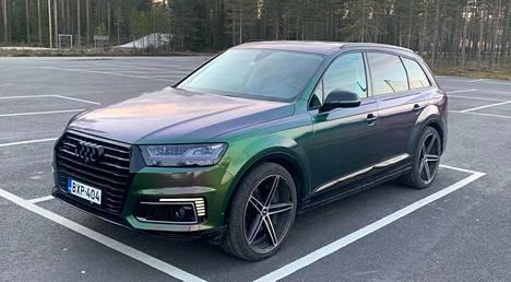 Tämä Audi Q7 myytiin Huutokaupat.comissa 55 400 euron hintaan.