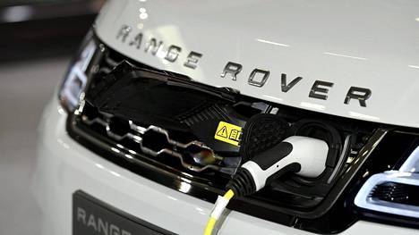 Range Roveria ladattiin Auto 2018 -tapahtumassa marraskuussa 2018.