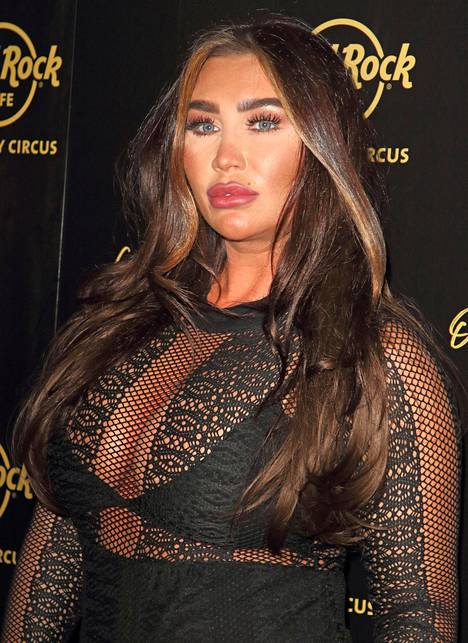 Lauren Goodger on tuttu Towie-sarjasta.