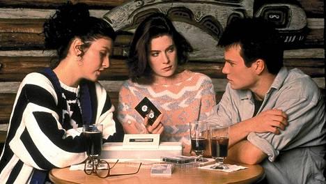 Lara Flynn Boyle Twin Peaks-sarjassa 1990-luvun alussa.