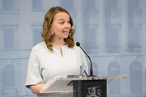 Valtiovarainministeri esitteli tiistaina hallituksen lisätalousarvioesitystä.