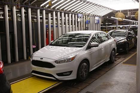 Ford valmistaa autoja sekä Meksikossa että Yhdysvalloissa.