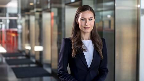 Sdp:n puheenjohtaja Sanna Marin